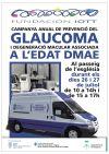 Campanya glaucoma i DMAE cartell